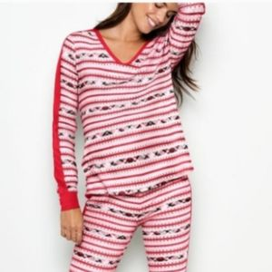 Victoria's Secret Thermal Pajama Top